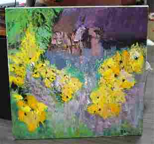 CONTEMPORARY EXPRESSIONIST PAINTING OIL ON CANVAS