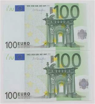 200 EUROS CURRENT PAPER CURRENCY BANKNOTES