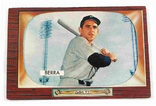 1955 YOGI BERRA #168 BOWMAN BASEBALL CARD