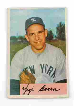 1954 YOGI BERRA #161 BOWMAN BASEBALL CARD