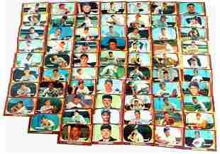 SET OF 67 GOLDEN AGE 1955 BOWMAN BASEBALL CARDS