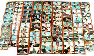 SET OF 96 GOLDEN AGE 1955 BOWMAN BASEBALL CARDS