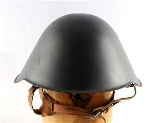WWII EAST GERMAN ARMY M56 HELMET LIGHT GREY