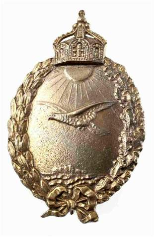 WWI IMPERIAL GERMAN NAVY PILOT PIN BADGE