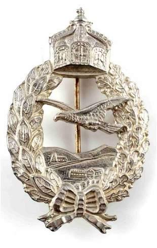 WWI IMPERIAL GERMAN ARMY PILOT PIN BADGE
