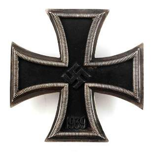 WWII GERMAN THIRD REICH KNIGHT'S IRON CROSS PIN