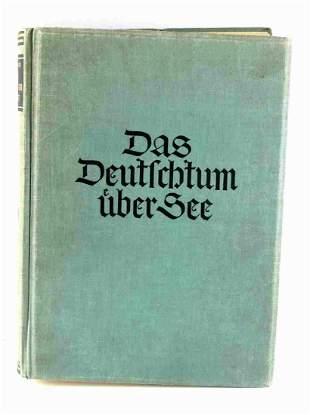 WWII GERMAN THIRD REICH HITLER EX LIBRIS BOOK