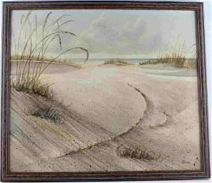 DEAN GIOIA ORIGINAL FLORIDA BEACH PAINTING
