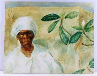 ALICE SCOTT SCANLAND BLACK AMERICANA PORTRAIT