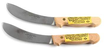 LOT OF 2 J. RUSSEL & CO. GREEN RIVER WORKS KNIFE