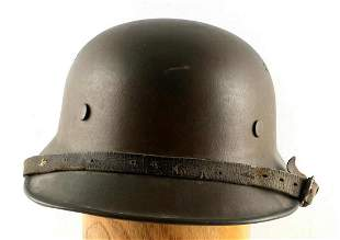 WWII GERMAN THIRD REICH SA M-38 GLADIATOR HELMET