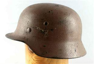 WWII GERMAN THIRD REICH M-42 LUFTWAFFE HELMET