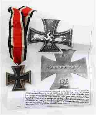WWII SOVIET MADE PROPAGANDA GERMAN IRON CROSS