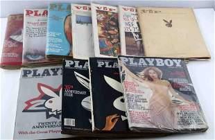 ANNIVERSARY HOLIDAY & VIP PLAYBOY MAGAZINES ISSUES