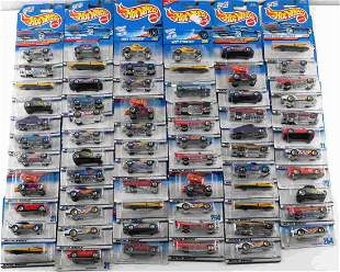 LOT OF OVER 40 HOT WHEELS TOY COLLECTOR CARS