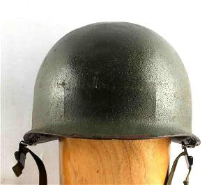 WWII US MILITARY ARMY M1 HELMET NO LINER