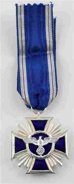 WWII GERMAN 3RD REICH NSDAP 15 YEAR SERVICE MEDAL
