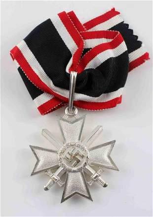 WWII GERMAN THIRD REICH WAR MERIT CROSS W SWORDS