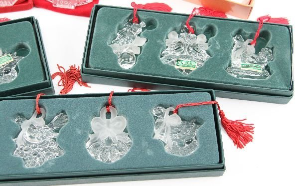 WATERFORD MARQUIS 12 DAYS CHRISTMAS ORNAMENT LOT - 5