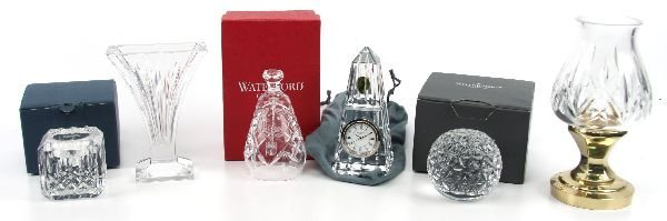 WATERFORD CRYSTAL LOT
