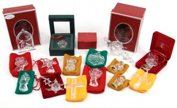 WATERFORD CRYSTAL CHRISTMAS LOT