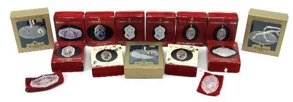 WATERFORD SONGS OF CHRISTMAS ORNAMENT LOT OF 15