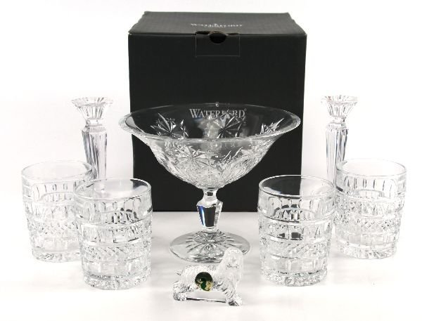 WATERFORD CRYSTAL LOT OF 8