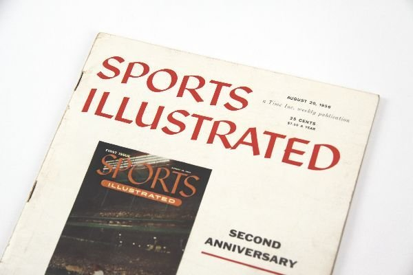 1ST ISSUE SPORTS ILLUSTRATED MAGAZINE AUG 1954 - 2