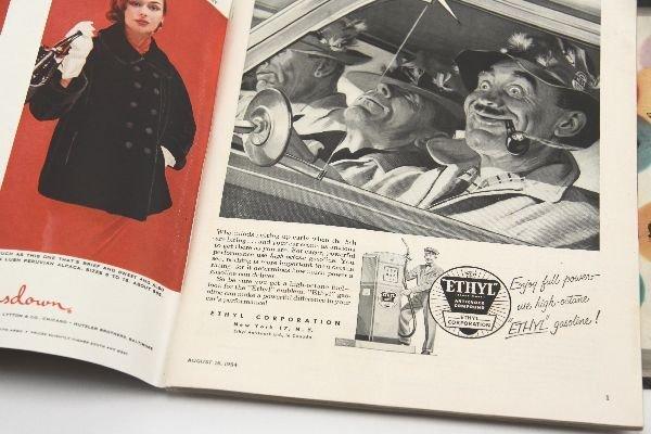 1ST ISSUE SPORTS ILLUSTRATED MAGAZINE AUG 1954 - 4