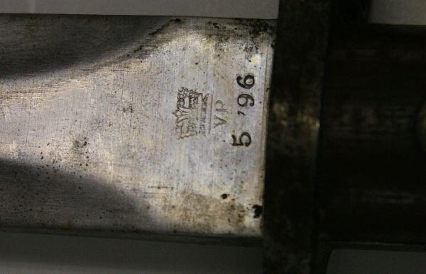 LEE METFORD 1888 BAYONET MAUSER & A BOLO - 2