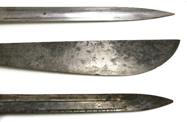 LEE METFORD 1888 BAYONET MAUSER & A BOLO - 6