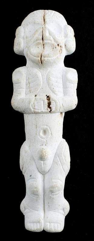 PRECOLOMBIAN TAINO CEMI MANATEE SCULPTURE