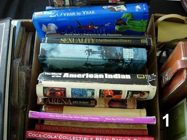 901: WWII US MILITARY BOOK BOX LOT - VARIOUS