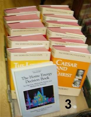 HISTORY BOOK LOT + ENCYCLOPEDIA SET 1959