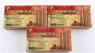 60 ROUNDS OF BARNES VOR-TX .308 WINCHESTER AMMO