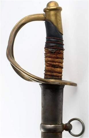 CIVIL WAR CONFEDERATE STATE ARMY CAVALRY SWORD