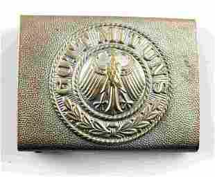 WWII GERMAN THIRD REICH GOTT MIT UNS BELT BUCKLE