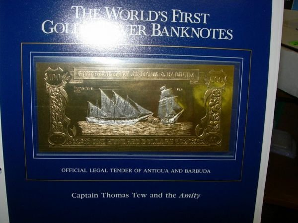 20110: EXCELSIOR COLLECTION 1988 GOLD & SILVER BANKNOTE - 2