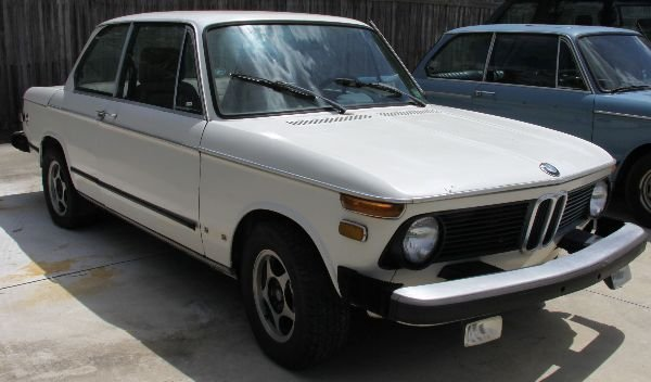 1974 BMW 2002 TII WHITE TWO DOOR
