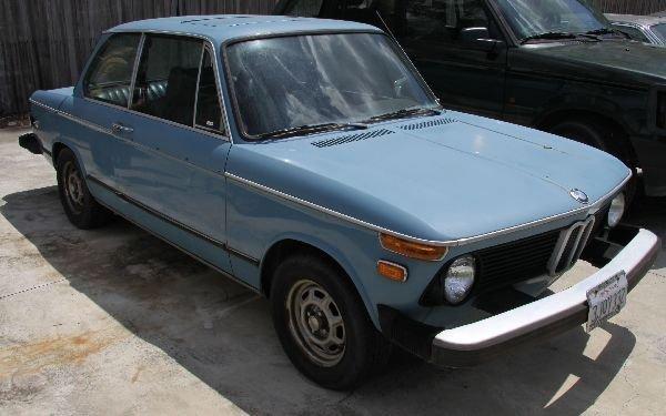 POWDER BLUE 2 DOOR 1976 BMW 2002