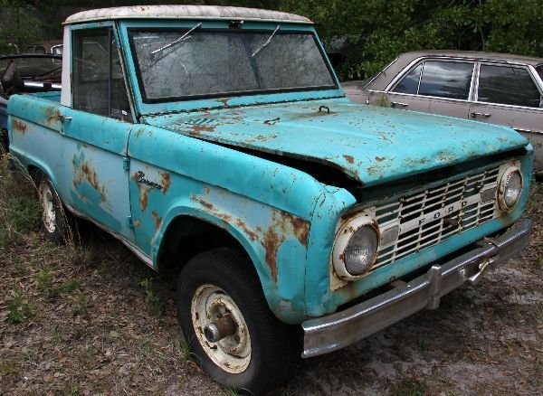 1966 FORD BRONCO U140 2 DOOR
