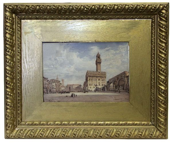 """PALAZZO VECCHIO, FLORENZ"" BY HILDEBRANDT"