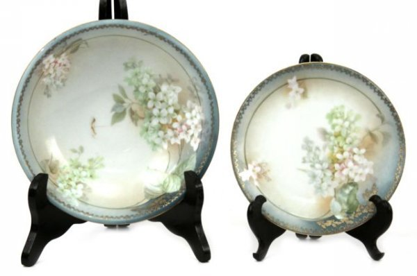 RS GERMANY TILLOWITZ SILESIA  PORCELAIN CHINA SE - 2