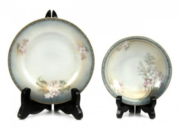 RS GERMANY TILLOWITZ SILESIA  PORCELAIN CHINA SE - 3