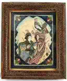 MID 20TH CENTURY INDO ASIAN CELLULOID TILE