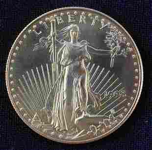 1998 1 OZ. FINE GOLD $50 AMERICAN EAGLE COIN