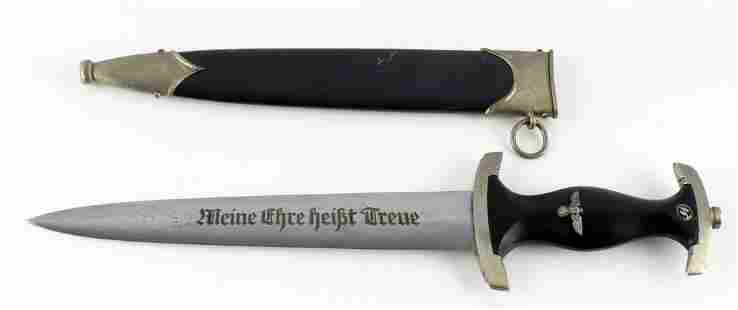 THIRD REICH WAFFEN SS M33 BOKER CATHEDRAL DAGGER