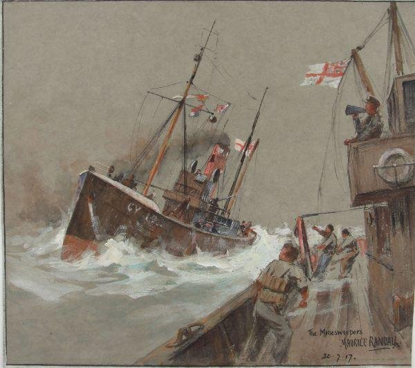 """""""THE MINESWEEPERS"""" BY MAURICE RANDLL 1917"""