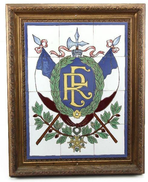 1870 FRENCH REPUBLIC TILE SET FROM GENERALS HQ