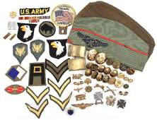MILITARIA LOT WWII  VIETNAM BADGE PATCH HOMEFRONT